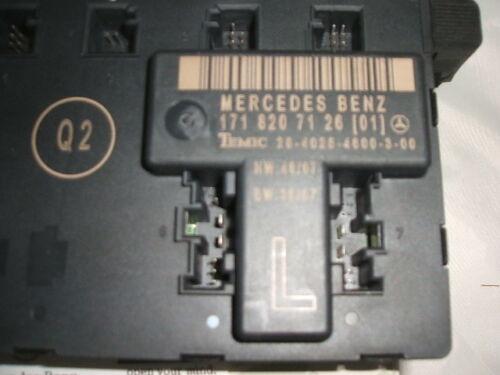 Genuine Mercedes-Benz R171 SLK Left Door Control Module//Unit A1718207126 NEW