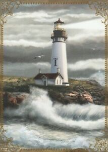 Modern-Wide-Lighthouses-P6-Lighthouse-Near-Large-Waves-Swap-Playing-Card