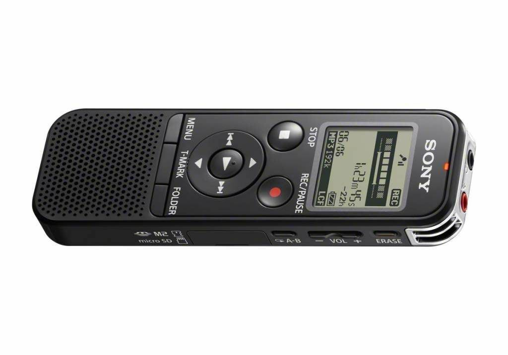 how to use sony ic recorder icd-px333