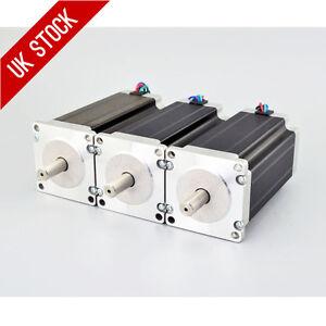 3PCS-3Nm-Nema-23-Stepper-Motor-4-2A-4-wires-10mm-Shaft-DIY-CNC-Mill-Lathe-Router