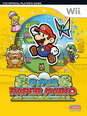 (Good)-Super Paper Mario Official Players Guide (Paperback)-Future Press-3940643