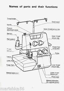 sewing machine threading diagram white sewing machine