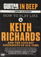 Guitar World in Deep HOW TO PLAY STYLE KEITH RICHARDS Video DVD and ANDY ALEDORT