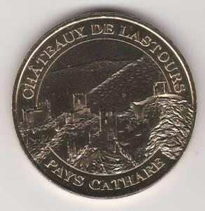A-2007-TOKEN-MEDAILLE-MONNAIE-DE-PARIS-11-600-N-1-CHATEAUX-LASTOURS-CATHARE