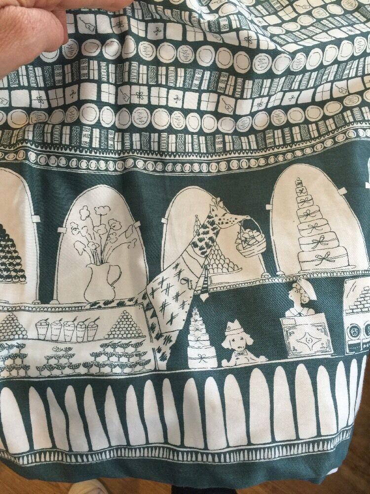 Modcloth Poppy London Rare Chocolate Shop Skirt Nwt