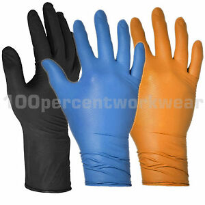 50-Warrior-Draco-Grip-Fish-Scale-Nitrile-Ambidextrous-Work-Gloves-Mechanics-New