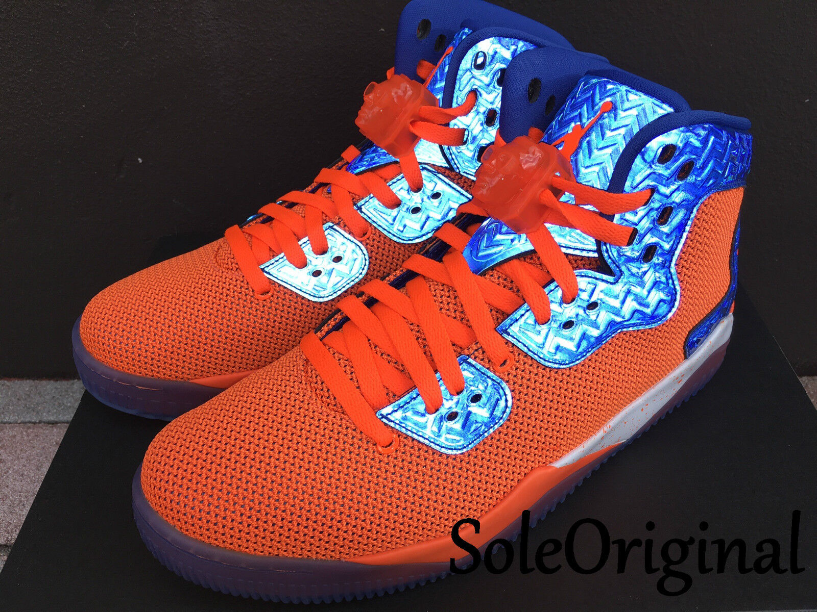 Nike Air Jordan Spike Lee NY Knicks Royal cuarenta PE total Naranja Royal Knicks 807541801 42abad