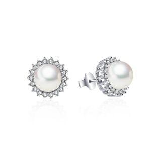 Sunshine-Pearl-CZ-Stud-Earrings-AAA-Cubic-Zirconia-14K-White-Gold-Clad-Brass