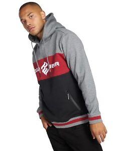 Rocawear-3-Tone-Hoodie-Pullover-uomo-cappuccio-tasche-canguro-Uomini-Felpa