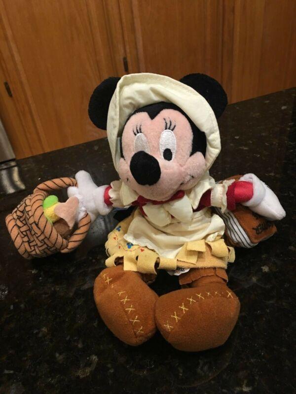 Minnie Frontierland Disney Bean Bag Plush
