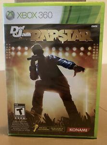 Def Jam Rapstar (Microsoft Xbox 360, 2010) Brand New