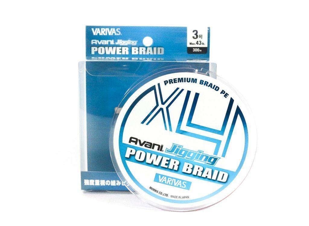 [Varivas] P.E Line Avani Jigging X4 Power Braid 300m P.E 3 43lb  2250