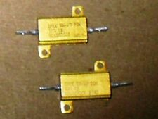 Radio/Electronics/Electrical. 2 - Dale Aluminium Clad Resistors.1 Kohm. 1%. NOS.