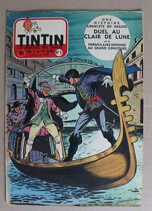 journal Tintin hebdomadaire - 10e année n° 6 - 1955 - Graton