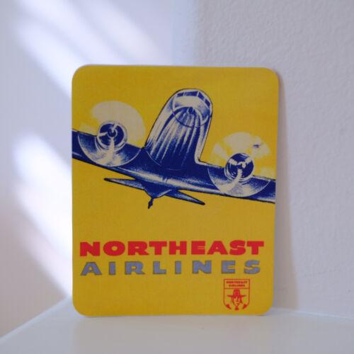 "#2913 Vintage Northeast Airlines Travel retro waterproof print 3/"" DECAL STICKER"