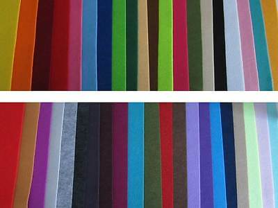 Bastelfilz Filzplatte Filz Trendyfilz 75x50 cm ca. 3mm Hobbyfun Farbe nach Wahl