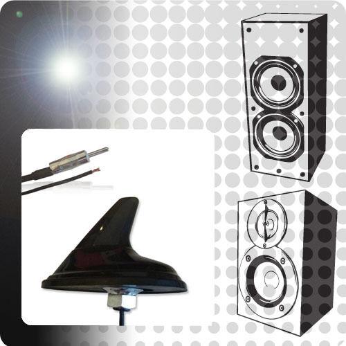 SAAB 9-3 YS3F 2.0 ACP Universale Amplificata AM//FM Pinna Di Squalo Antenna Upgrade NUOVO XE3