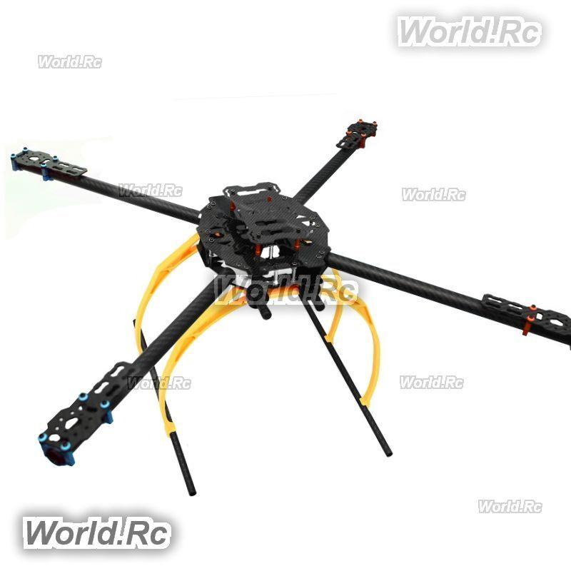 Tared Iron Man 650 Foldable 3K Carbon Fiber Quadcopter Frame TL65B02 Drone