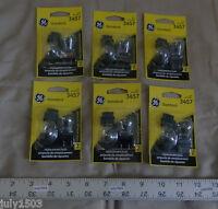 Twelve (12) Ge 3457 Miniature Lamp Bulb S8 27/8w 12 Volt 12v Free Shipping