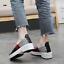 Summer femmes à Enfiler Chaussures De Marche Tissé Tissu Élastique Sandales Décontractées Chaussures