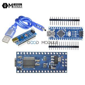 Mini USB Nano V3.0 ATmega328P CH340G//FT232 5V 16M Micro-controller Board Arduino