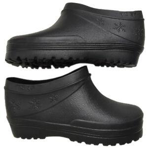 Image Is Loading Black Waterproof Rubber Garden Boots Rain Shoes Size