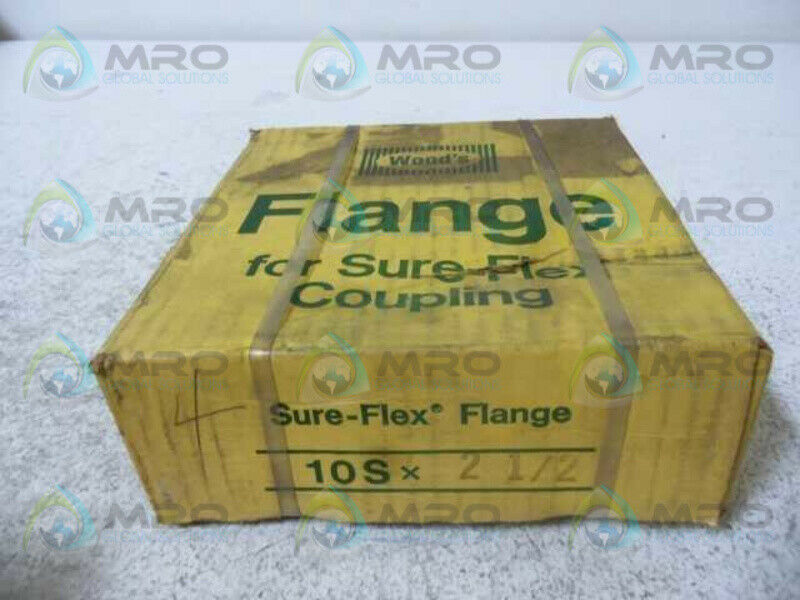 TB WOODS 10S-2-1 2 COUPLING FLANGE 2-1 2  BORE (YELLOW BOX)  NEW IN BOX