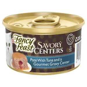 Fancy Feast Savory Centers Cat Food Tuna Pate 85g
