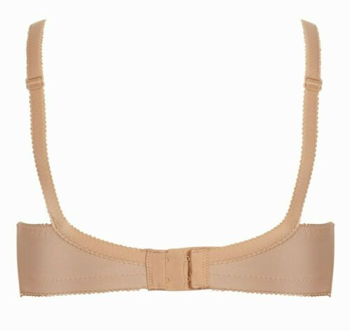 NEW rrp £36 Nude lightly padded Tshirt bra 36D Royce Pollyanna Nursing bra