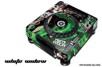 Betrouwbare Skin Decal Sticker Wrap For Pioneer Cdj 1000 Turntable Dj Mixer Pro Audio Widow