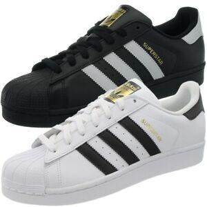 Adidas Superstar white black men's
