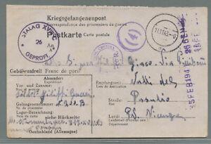 Kriegsgefangenenpost-2-WK-STALAG-XVIIIC-Reinbach-St-Johann-1943-gt-Italien