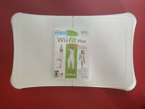 Nintendo Wii Fit Plus Balance Board Wii Bundle Game/Tested