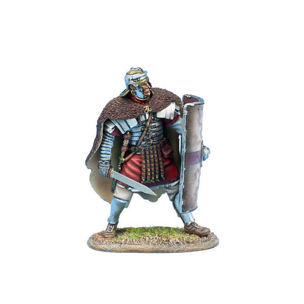ROM213 Imperial Roman Legio XIIII GMV Ready in Bearskin Cloak by First Legion