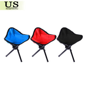 Image Is Loading Slacker Folding Portable Travel Chair Stool For Outdoor
