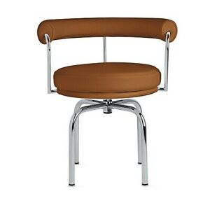 Authentic Poltrona Frau Group Lc7 Swivel Chair Dwr Ebay