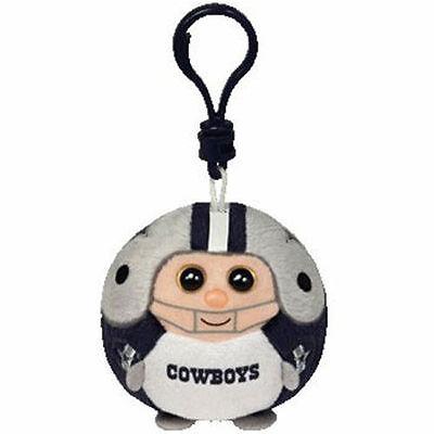 "Ty NFL Beanie Ballz Greenbay Green Bay Packers 2.5/""  Keychain Key Chain Ball"