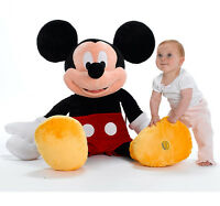 Disney Store Mickey Mouse Clubhouse 100cm 1 M Meter Giant Plush Soft Toy---