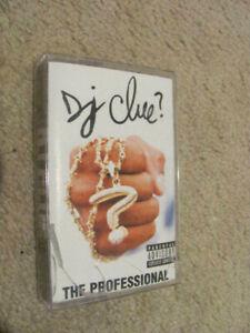 DJ Clue 'The Professional' Cassette (1998) (Roc-A-Fella) DMX Jay-Z Nas Redman