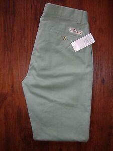 vert Lauren preppy pour Polo L34 chino sage 139 'Pantalon Bnwt Pantalon hommes W32 Ralph wt5qnx8qH