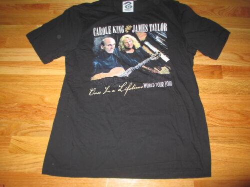 "2010 JAMES TAYLOR and CAROLE KING ""Troubadour Reunion"" Concert T"