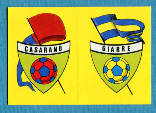 CALCIO 89 Euroflash Figurina-Sticker CASARANO#GIARRE SCUDETTO New