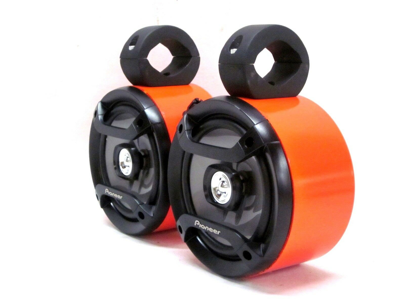 Pioneer orange Mini Wakeboard Tower Boat Roll Cage Speakers UTV RZR Kubota Jeep
