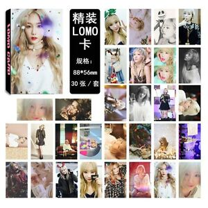 30pcs-set-Kpop-Girls-039-Generation-Taeyeon-Personal-Lomo-Card-Photo-Picture-Poster