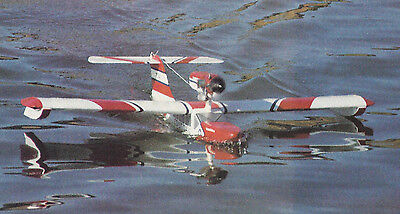Seamaster II Sport Seaplane Plans, Templates and Instructions 48ws