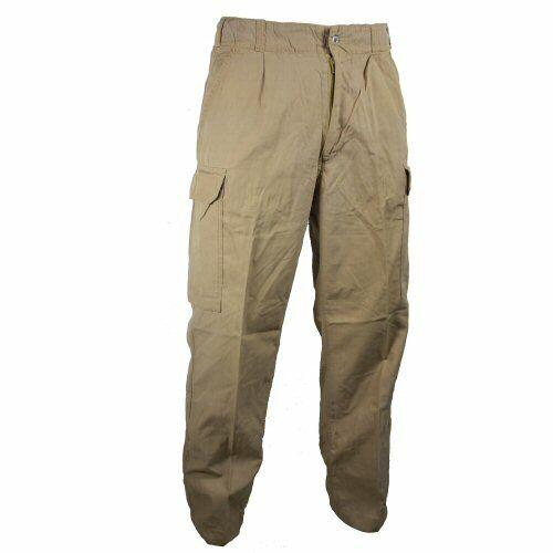 Men/'s Naval Khaki Tan Antistatic Viscose Cargo Trousers Military Outdoor