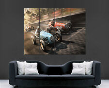 NASCAR POSTER RETRO RACING F1 OLD-SCHOOL HISTORY CARS WALL ART PICTURE PRINT