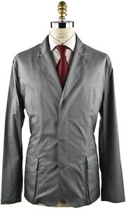 Us And Silk Eu Nuevo 56 Kiton 19oc134 Cashmere 46 Coat Sz 16w1fpxCq