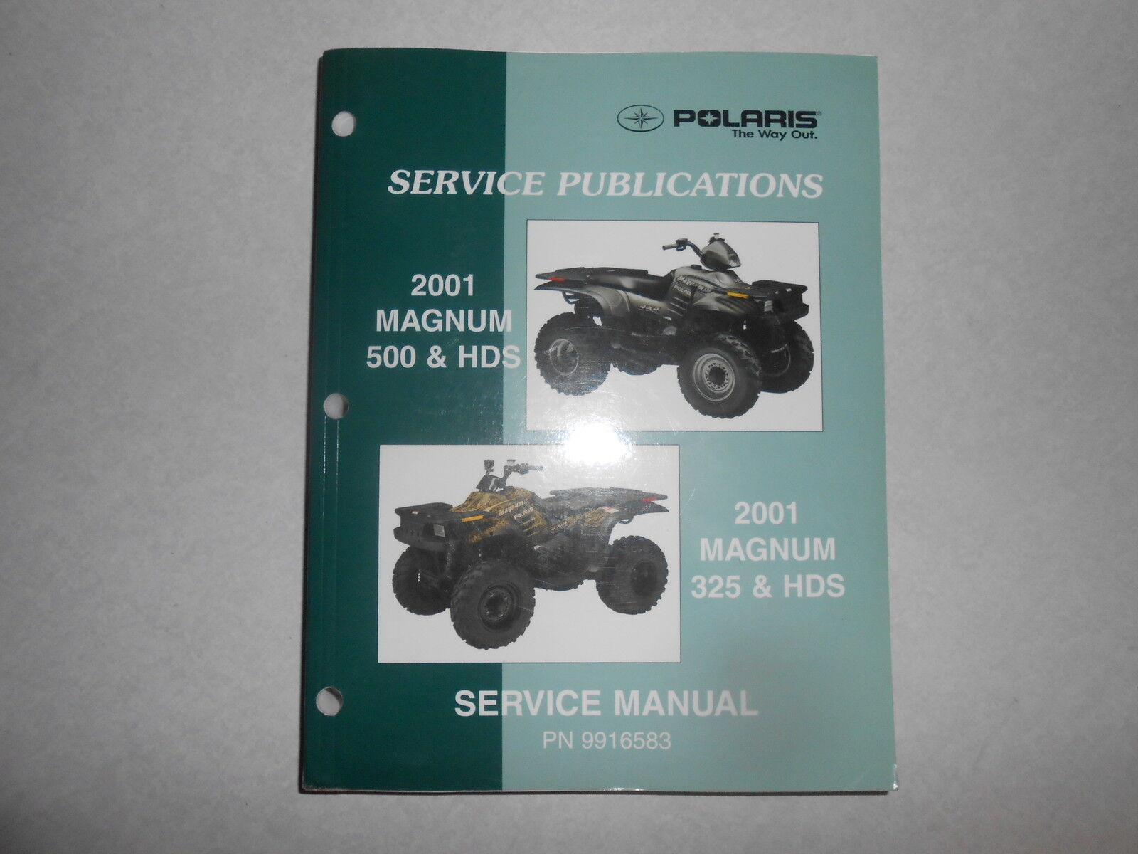 Genuine Polaris ATV 2001 Magnum 500 & 325 Service Repair Manual 9916583 |  eBay