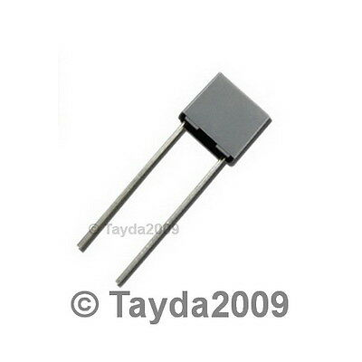 5 x 100nF 0.1uF 100V 5/% Polyester Film Box Type Capacitor FREE SHIPPING